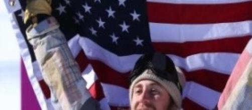 Lo statunitense appena ventenne prima medaglia