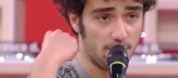 """Pasquale Sculco, cantante della band """"Carboidrati"""""""