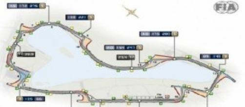 La piantina ufficiale del circuito