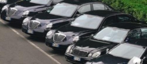 La spending review colpisce anche le auto blu