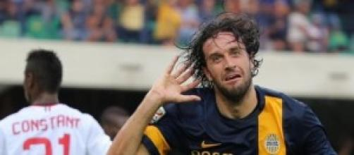 Luca Toni capocannoniere del Verona con 11 goal