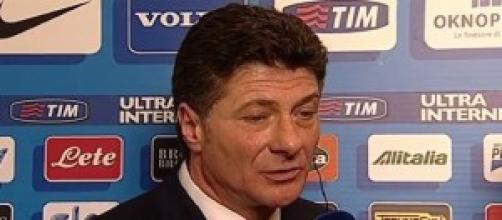 Walter Mazzarri, tecnico dell'Inter