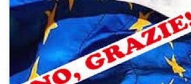 La bandiera dell'Europa Unita