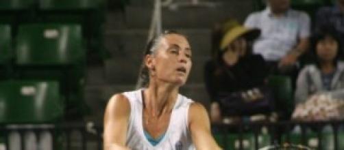 Flavia Pennetta vola in finale.