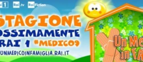 Logo serie tv 'Un medico in famiglia 9'