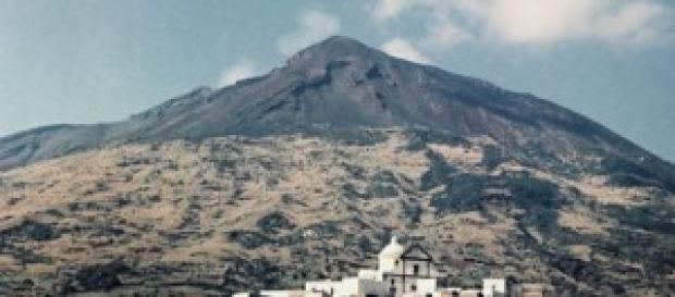 Il paese di San Felice nel 1955