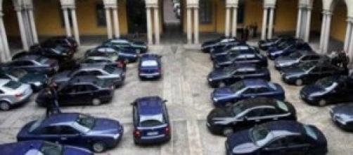 Auto blu in dotazione al Governo