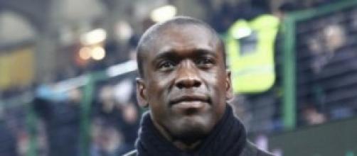 Clarence Seedorf, allenatore del Milan.
