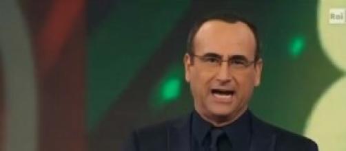 Carlo Conti passa il testimone a Fabrizio Frizzi