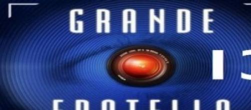 Il logo 2014 del Grande Fratello 13