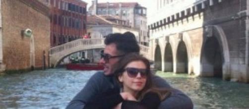 Aldo Palmeri e Alessia Cammarota a Venezia