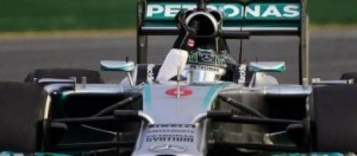 Rosberg, vincitore del GP d'Australia 2014