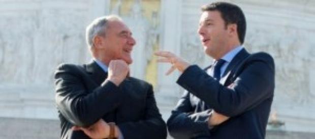 Indulto e amnistia 2014, Renzi e Grasso