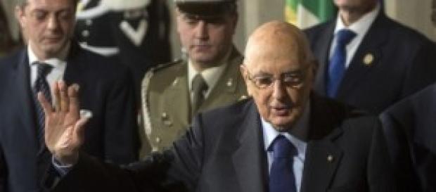 Renzi, taglio F-35: Giorgio Napolitano