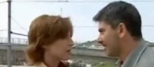 Franco e Giovanna in Un posto al sole.