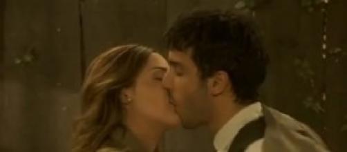 Juan e Soledad nella telenovela Il Segreto.