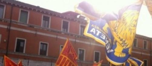 """""""Veneto indipendente!"""" questo il coro a Treviso"""