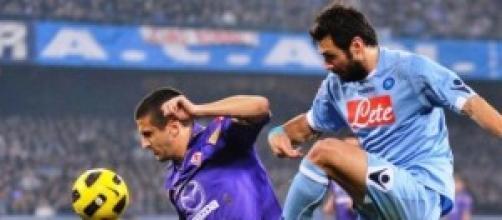 Napoli Fiorentina streaming 23-3-2014 diretta tv