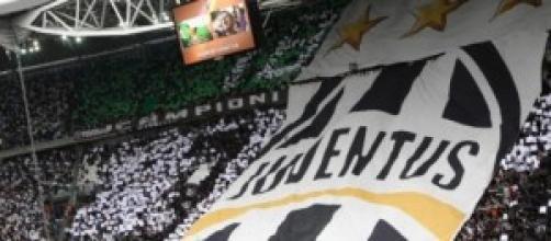 La curva bianconera allo Juventus Stadium