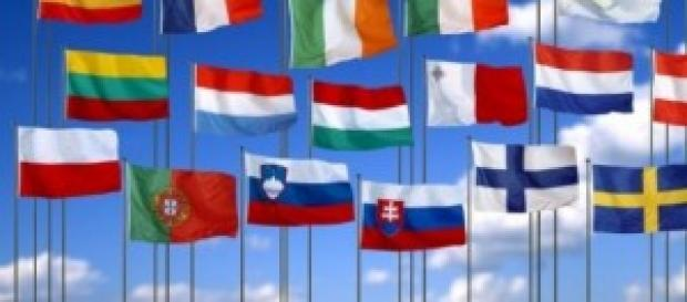 UE. Flagi Unii Europejskiej