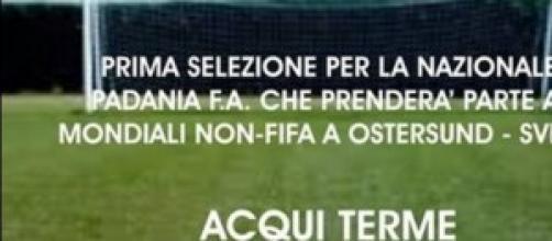selezioni di calcio della squadra della Padania
