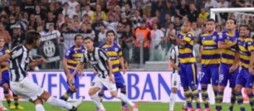 Streaming Juventus Parma 26-3-2014 diretta tv sky