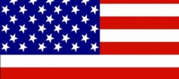 Bandiera statunitense stilizzata