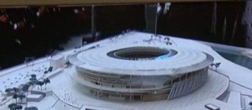 Il nuovo stadio della Roma
