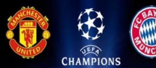 Champions League, Manchester United-Bayern Monaco