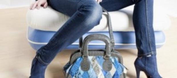 jeans skinny donna e scarpe