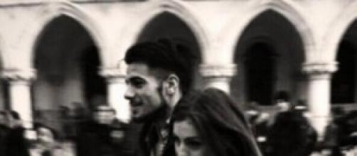 Aldo e Alessia a Venezia.