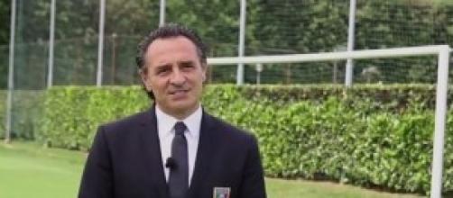 Cesare Prandelli, ct dell'Italia