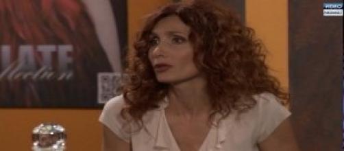 Laura Beccaria in qualche puntata fa