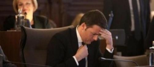 Bufera sul governo. Renzi preoccupato.
