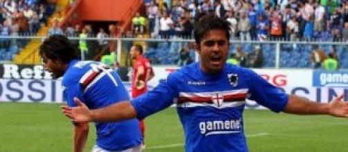 Eder capocannoniere della Sampdoria con 9 reti