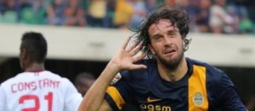 Toni capocannoniere del Verona con 13 goal