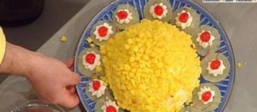 Torta mimosa di Sal De Riso