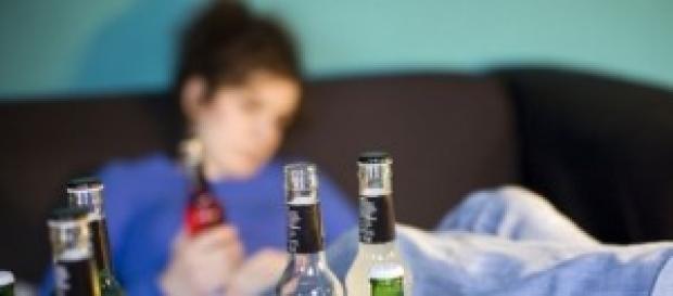 Abuso di alcol e droga tra i giovani
