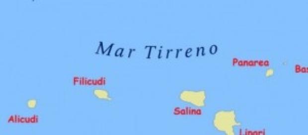 Lipari e altre otto isole delle eolie