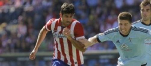 Liga, Celta Vigo-Atletico Madrid: Diego Costa
