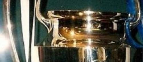 foto della coppa della Champions League