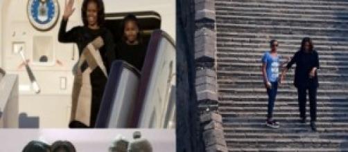 Scatti dal viaggio di Michelle Obama in Cina