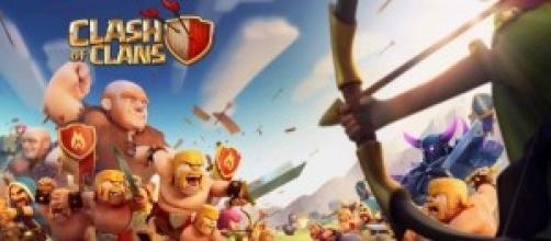 Nuova schermata di avvio di Clash of Clans