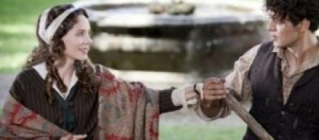 Mediaset sposta fiction Rodolfo Valentino