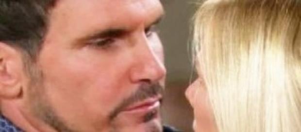 Bill rivela il suo amore a Brooke
