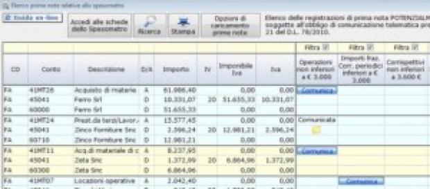 Spesometro 2014: data di scadenza 22 aprile