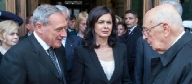 Amnistia e indulto: Napolitano, Boldrini e Grasso