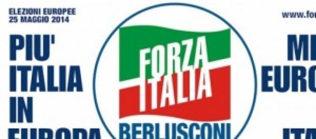 Forza Italia, il simbolo per le Europee 2014.