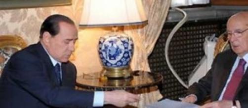 Indulto e amnistia 2014, Napolitano e Berlusconi