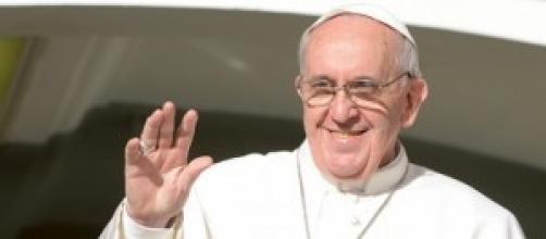"""Papa Francesco, """"la gioia può cambiarci""""."""